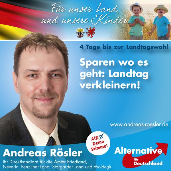 Sparen wo es geht: Landtag verkleinern!